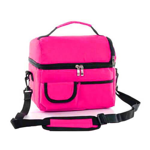 Túi giữ nhiệt màu hồng