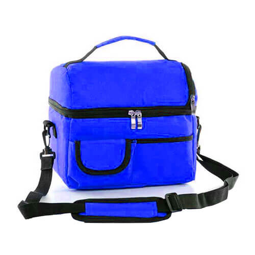 Túi giữ nhiệt màu xanh